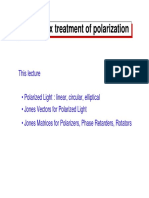 14-Matrix Treatment of Polarization