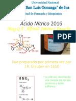 Ac. Nítrico 2016