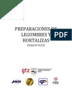 39-Preparaciones de Legumbres y Hortalizas