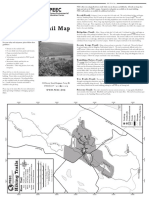 PEEC Hiking Trails Map (Text & Map) - 2013