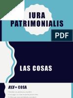 Las cosas en el derecho romano y peruano