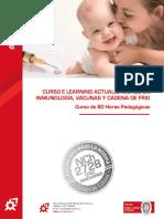 Programa Curso E Learning Inmunología, Vacunas y Cadena de Frío - 60 Horas- OTEC Innovares