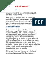 La Violencia en Mexico (2)