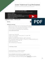 Forums.cnetfrance.fr-windows 7 Blue Screen Ntoskrnlexe Log WhoCrashed