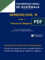 Derecho Civil III Clase 1