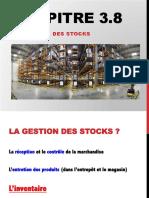 Chapitre 3.8 Gestion Des Stocks