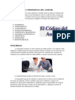 Ética Profesional Del Auditor