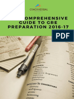The Comprehensive Guide to GRE Preparation-CrackVerbal