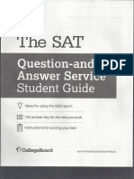 March 2018 SAT Student Guide