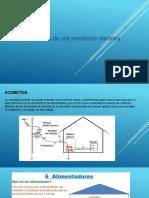 Presentación de Componentes de Una Instalacion Electrica