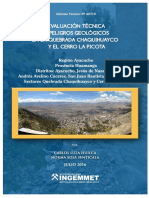 Evaluacion Tecnica Qda.chaquihuayco Cerro La Picota-Ayacucho