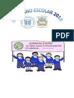 Planificacion Gobierno Escolar 2018