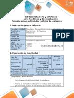 Guía de Actividades y Rúbrica de Evaluación - Paso 3 - Obtener Información Para Solucionar El Problema