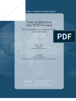 Time to Rethink the WTO System