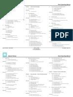 Maersk Pelican Deck Operating Manual