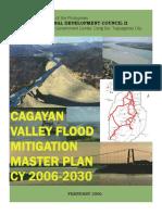 Cagayan Valley Flood Mitigation Master Plan 2005 2030