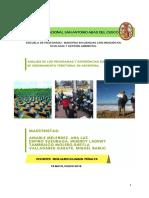 ANÁLISIS DE LOS PROGRAMAS Y EXPERIENCIAS SUPRAMUNICIPALES DE ORDENAMIENTO TERRITORIAL EN ARGENTINA (CAPITULO 17)