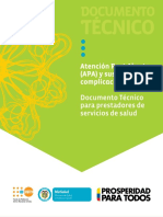 18 Colombia Health Sector Protocol on Post Abortion Care and Complications Ministry of Health 2014