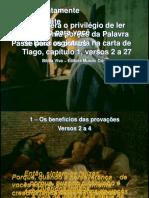 Carta de s Tiago Capc3adtulo 1-2-27 Provac3a7c3a3o e Pecado