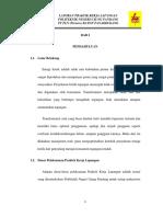 Manajemen Transformator Distribusi pada PT PLN (Persero) Area Makassar Selatan Rayon Panakkukang