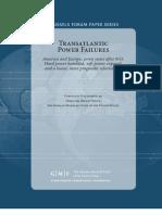 Transatlantic Power Failures