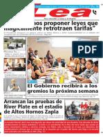 Periódico Lea Jueves 24 de Mayo Del 2018