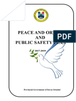 1. Peace and Order Cover