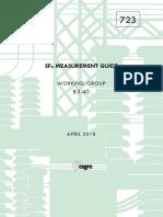 723 SF6 Measurument Guide