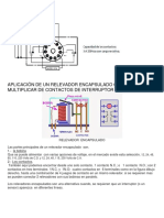Aplicación de Un Relevador Encapsulado Como Multiplicar de Contactos de Interruptor