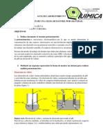 potenciometria y tipos de electrodos de trabajo