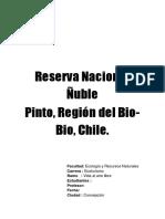 Reserva Nacional Ñuble