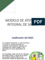 Modelo de Atención Integral de Salud- UPLA 2018
