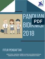 Pedoman Bidikmisi Siswa 2018