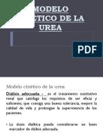Modelo Cinético de La Urea