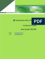 Zyxel Zywall usg300 & GreenBow IPSec VPN Software Configuration