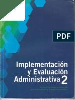 Implementacion y Evaluacion Adminsitrativa 2
