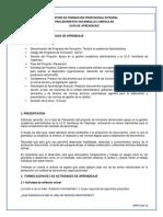 GFPI-F-019 Formato Guia de Aprendizaje 4-Producir Documentos.