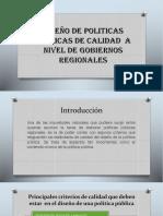 3. Diseño de Politicas Publicas de Calidad..