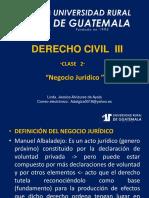 Derecho Civil III Clase 2