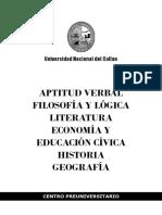 Preunac. Teoría - Letras y Rv II