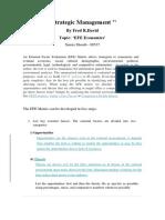 'EFE Economics' Takeaway