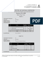 TISS Analysis 2008