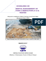 Construction and Demolition Waste