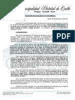 modelo de Resolucion de Alcaldia Nº Pariacolta II Etapa
