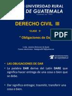 Derecho Civil III Clase 5