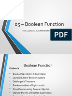 05 - Boolean Function