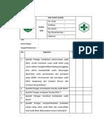 Daftar Tilik Sop Audit Klinis
