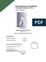 Informe N°3 fisico quimica II