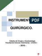 Cartilla Instrumental 2016