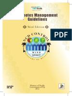1 Diabetes Management Guideline 3rd Edition 2012